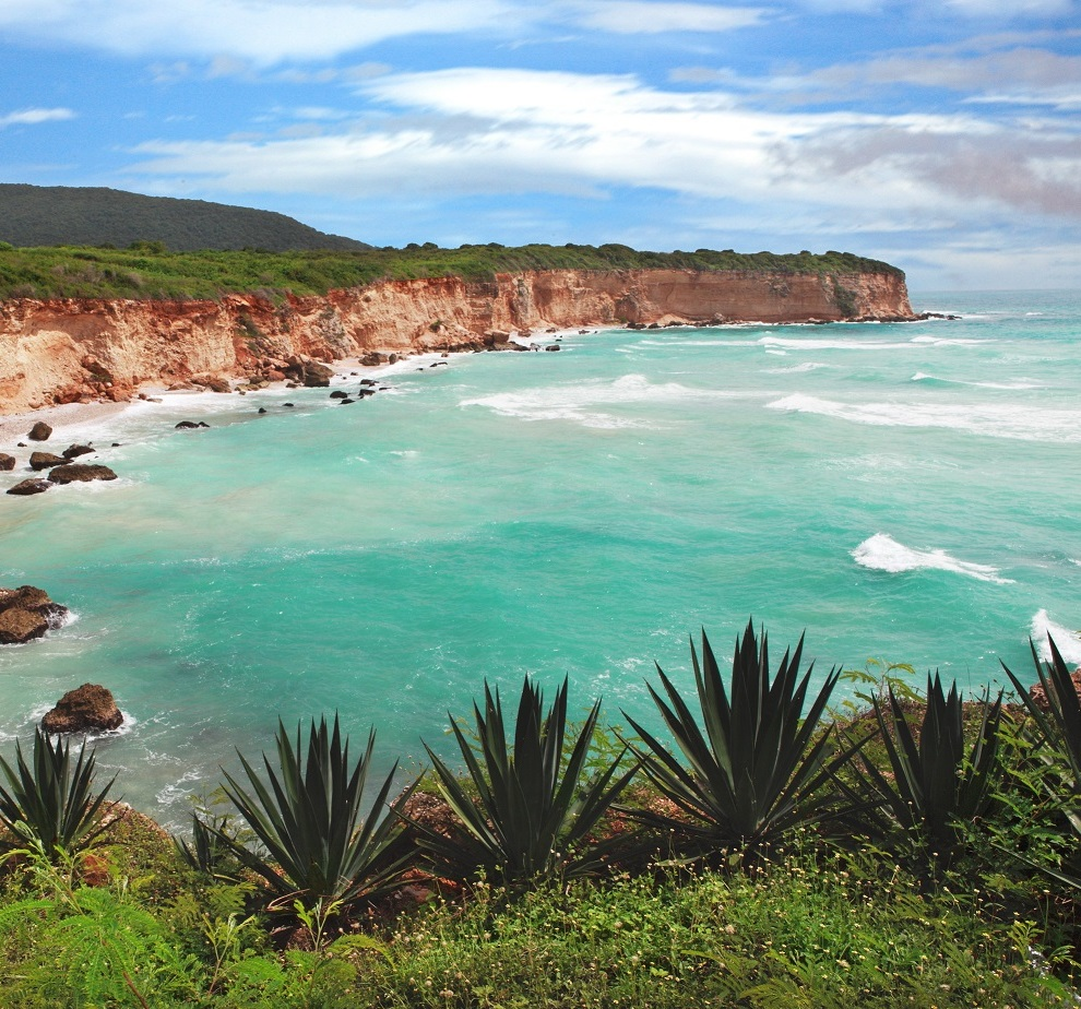 Der Fundort des Larimar befindet sich in der Dominikanischen Republik.