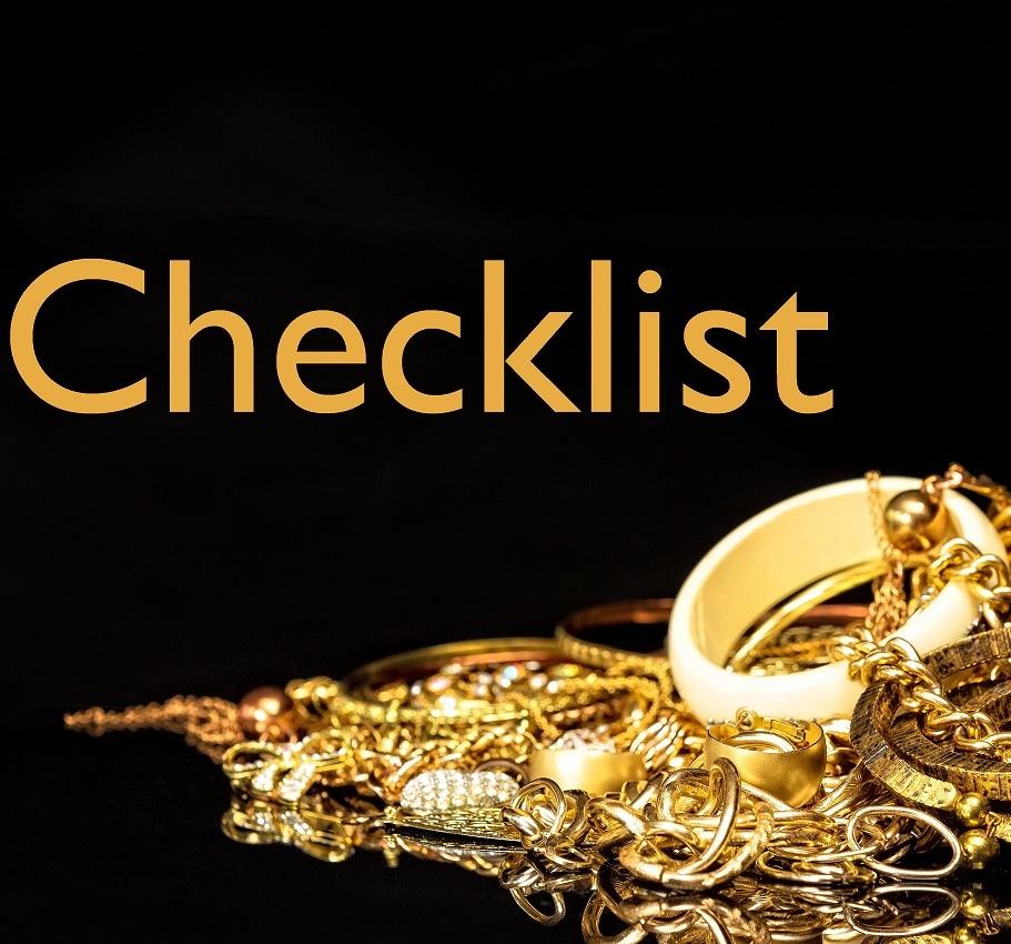 Aus Gold wird Geld - Checklist Gold-Pfand