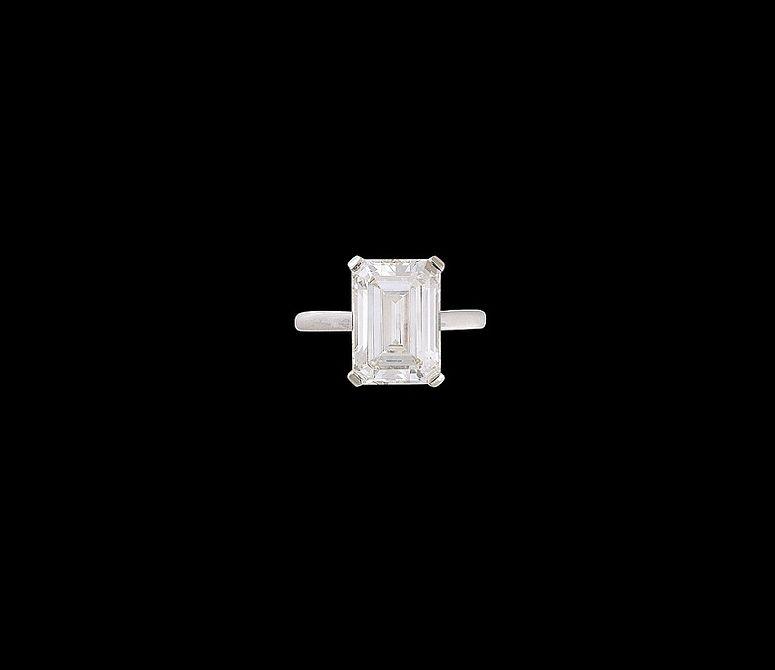 Verlobungsring Diamantsolitär