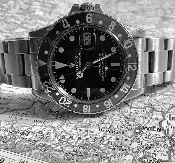 Rolex Oyster Perpetual GMT-Master II, Spitzname Pepsi