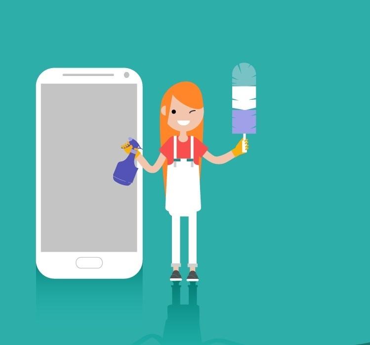 Maßnahmen wie Handy-Reinigung und ein Backup des Smartphones sollten regelmäßig vorgenommen werden.