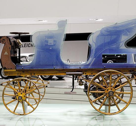 Porsche aus dem Jahr 1898: Egger-Lohner C.2