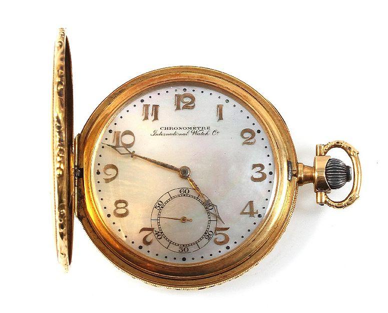 Frack-Uhr von IWC